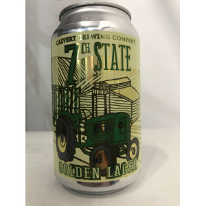 Calvert Brewing 7th State Golden Lager CASE