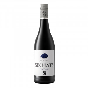 Six Hats Pinotage Fair Trade Certified