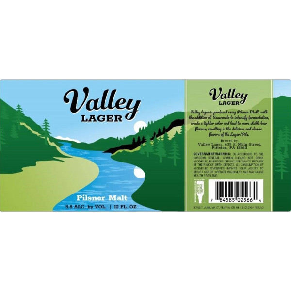 Sneaky Pete Valley Lager CASE