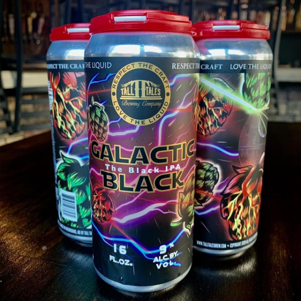 Tall Tales Galactic Black IPA CASE